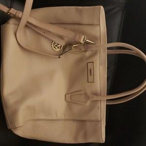 Large Leather DKNY bag
